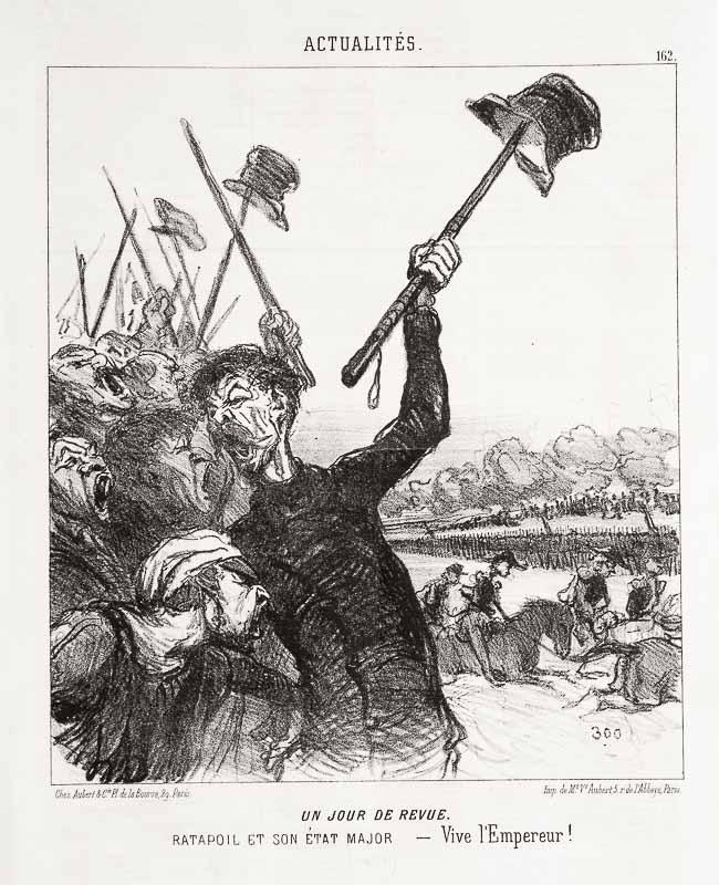 TRUPPENPARADE. (1851)