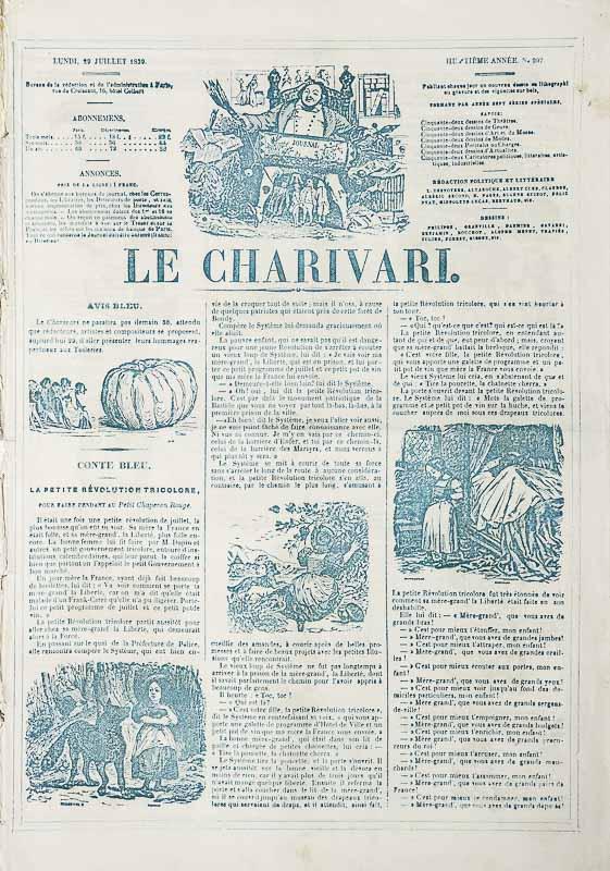 LE CHARIVARI., 29. Juli 1839