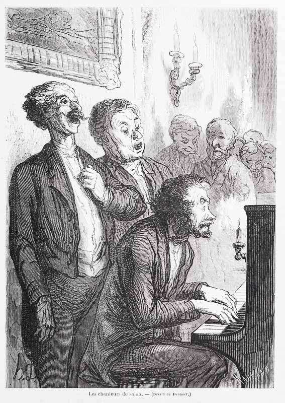 Die Kammersänger. (1862)