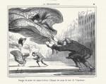 Die Gefahr des Tragens von Krinolinen... (1857)