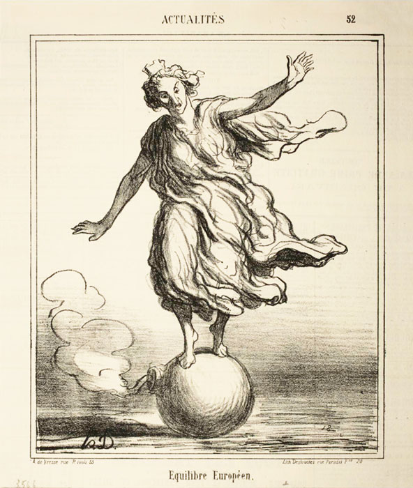Équilibre Européen. (1867)