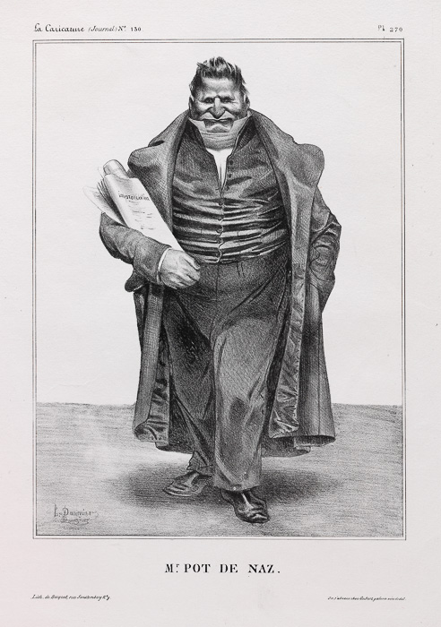 Mr. POT DE NAZ. (1833)