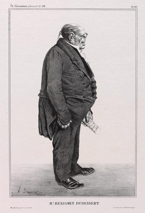 Mr. BENJAMIN DUDESSERT (1833)