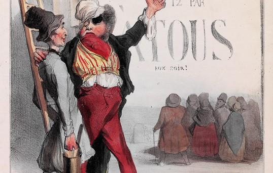 Robert Macaire philantrope. (1836)