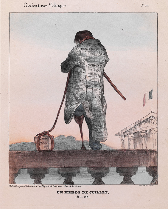 UN HÉROS DE JUILLET, (1831)