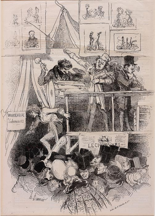 Parade du Charivari (1839)
