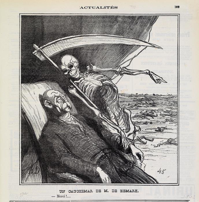BISMARKS (sic!) ALBTRAUM. - Danke! (1879)