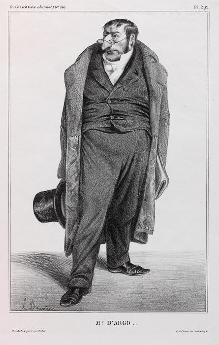 Mr. D'ARGO .. (1833)