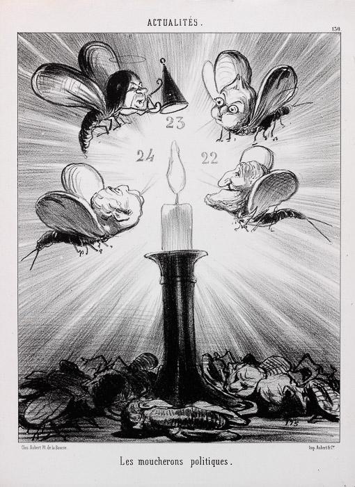 Die politischen Schnaken (1850)