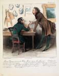 Monsieur Daumier, Ihre Robert Macaire Serie über Betrüger und Betrogene ist hervorragend...