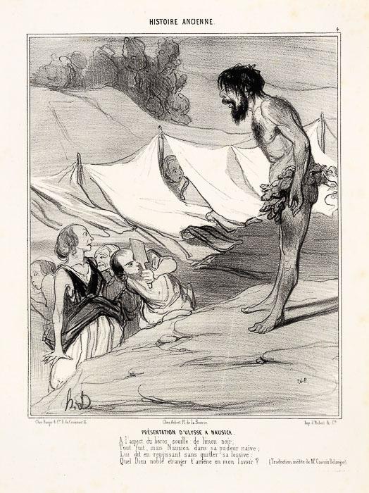 Présentation d'Ulysse à Nausica