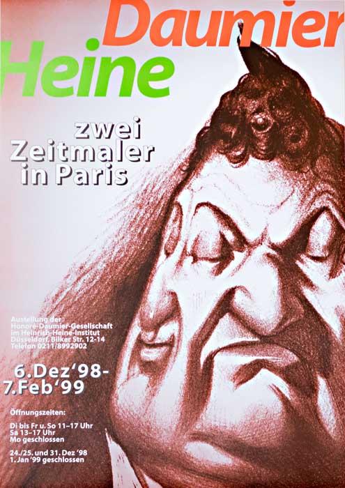 Plakat Zwei-Zeitmaler in Paris