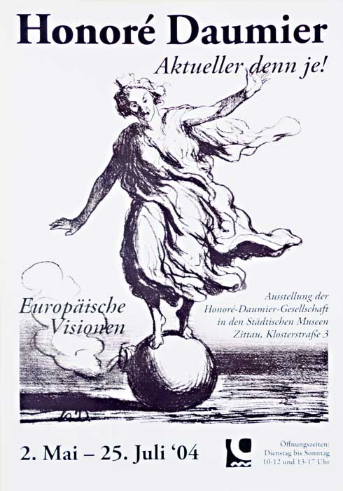 Plakat Daumier aktueller denn je